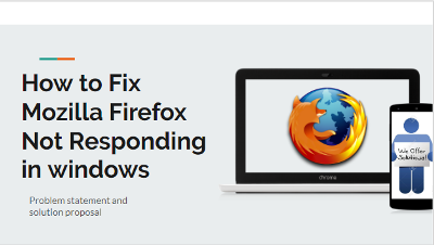 Mozilla Firefox Not responding on Windows & Android Device