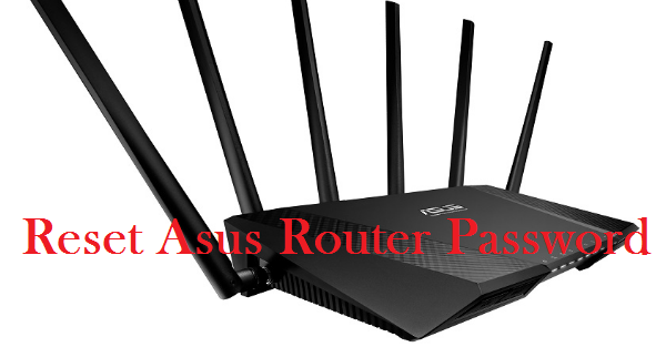 reset asus router password