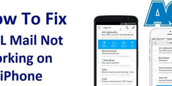 4 Effective Ways to Fix AOL Mail not working on iPhone