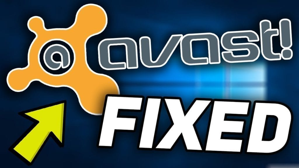 Avast Antivirus won't Open