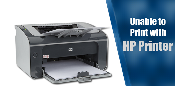 Ways to Fix HP Printer Not Printing