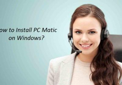 How to Install PC Matic Antivirus on Windows 7,8,10?