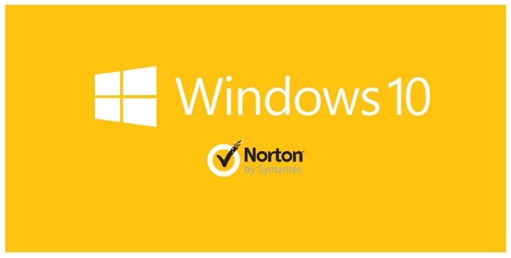 Norton Not Opening windows 10