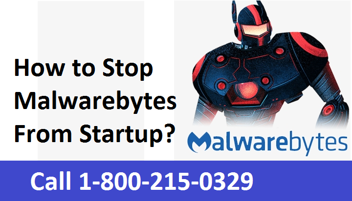 Remove Malwarebytes from Startup