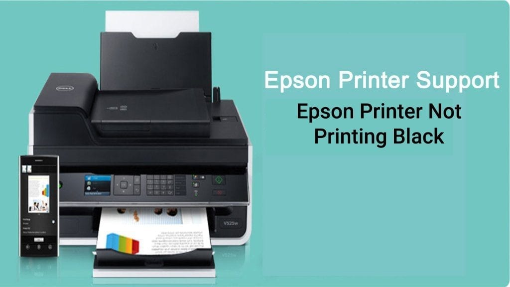 epson printer not printing black color