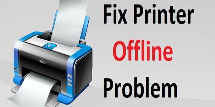 Troubleshoot Printer Offline Status on Windows 7