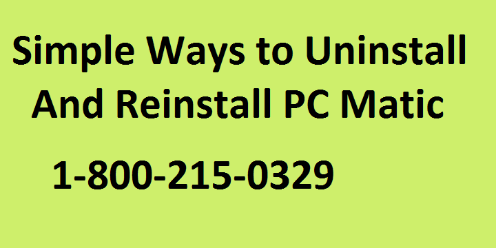 How to Reinstall PC Matic Antivirus on Windows 10?