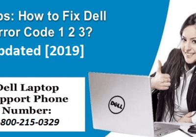 Simple Ways to Resolve Dell Error Code 1 2 3