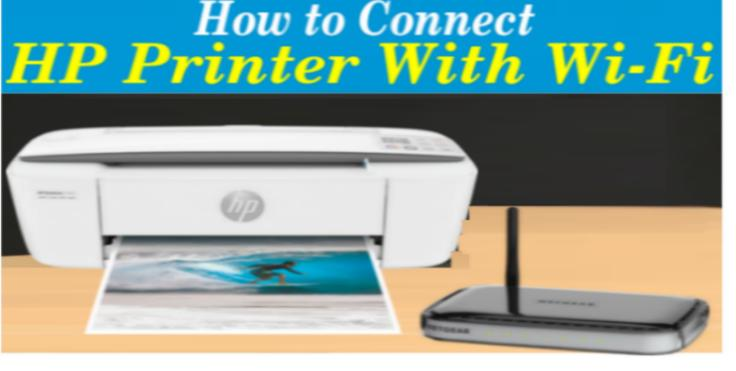 How to connect HP Printer with wi-fi