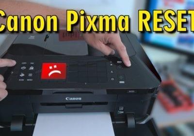 How Do I Reset Canon Printer?