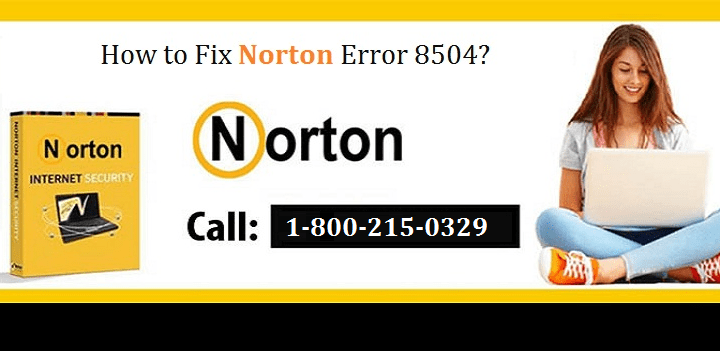 How to Fix Norton Error 8504 101?