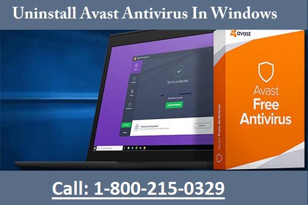 Uninstall avast antivirus