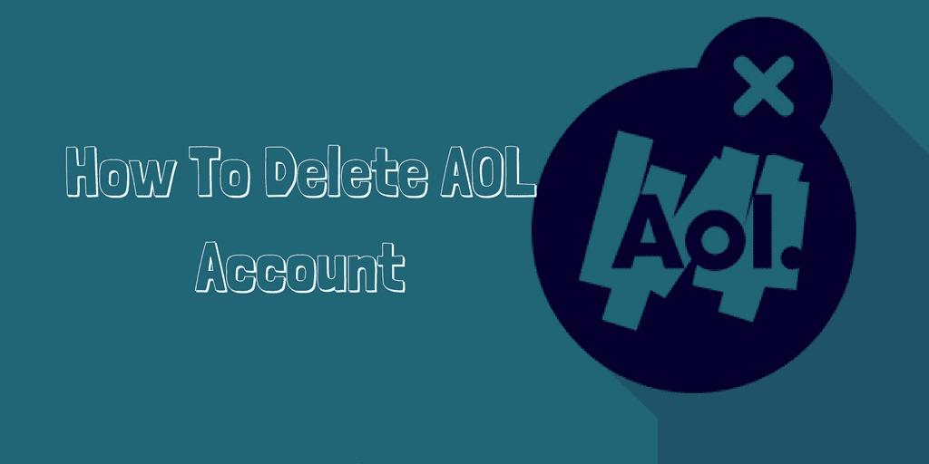 delete aol account