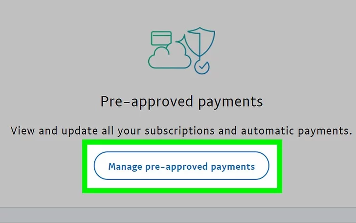 how to cancel a pending payment on paypal