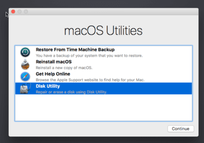 How to reinstall Mac Operating system?