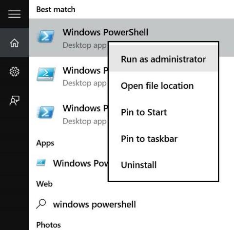 Windows Store Reinstallation