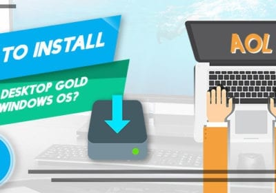 How to Install AOL Desktop Gold on Windows 10?
