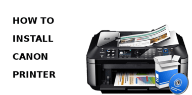 install canon printer