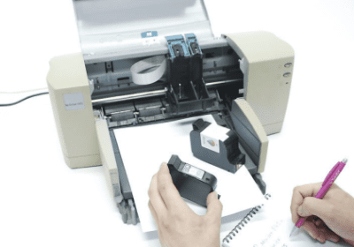 How to change ink in the canon Pixma printer