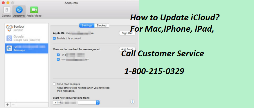 how to update icloud