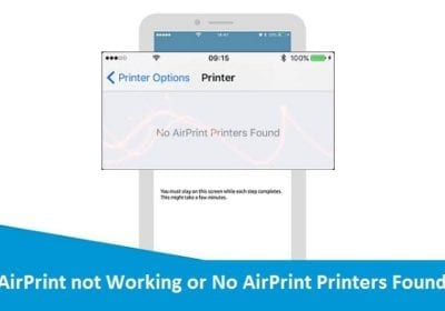 How to Fix Airprint Not Working?