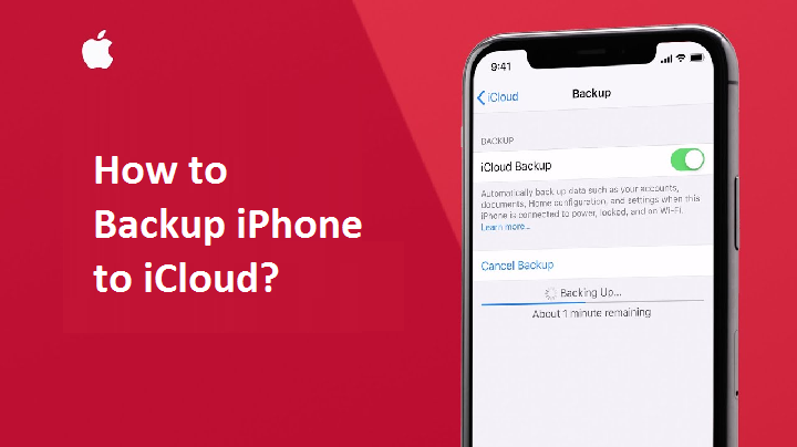 how to Backup iPhone to iCloud?