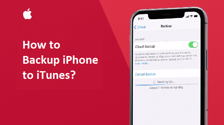 how to Backup iPhone to iTunes?