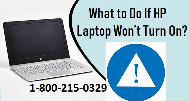 hp laptop not turning on