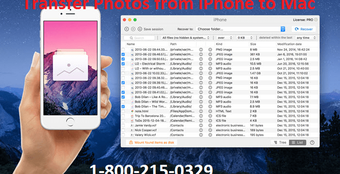 How to Transfer Photos from iPhone to mac?
