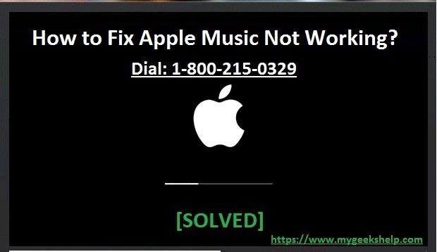 How to Fix apple music not working?