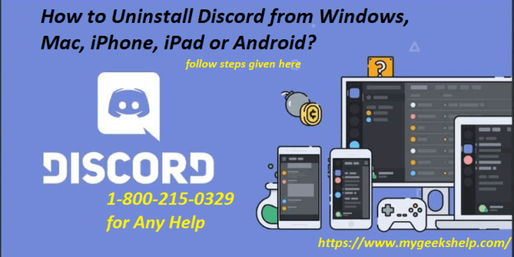 How to Uninstall Discord?