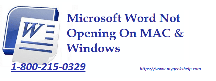 Microsoft Word Not Responding mac