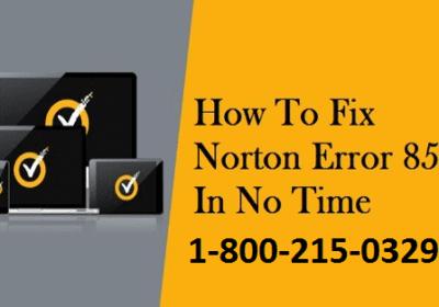 How to Fix Norton Error 8504 & 101
