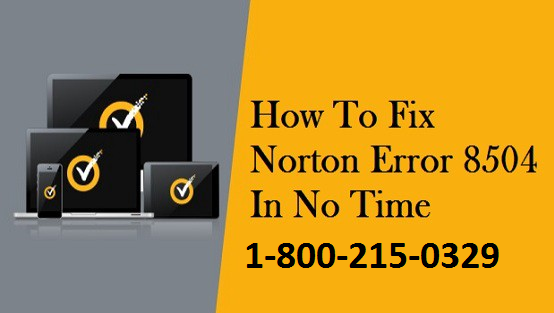 How to Fix Norton Error 8504 & 101
