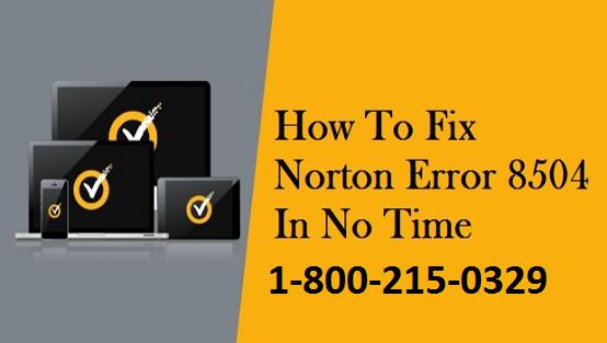 Norton Error 8504