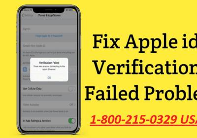 How to Fix Apple ID Verification Failed?
