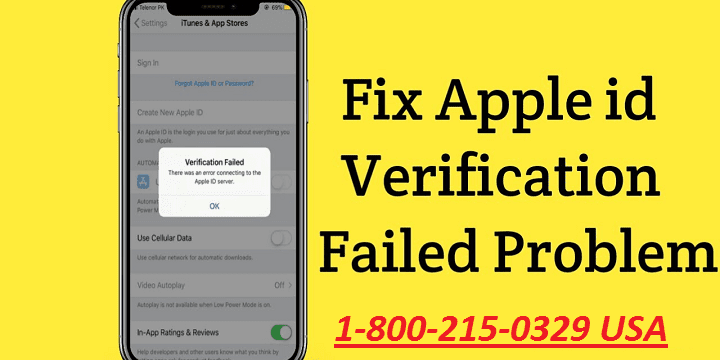 How to Fix Apple ID Verification Failed?