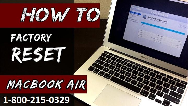 reset macbook air