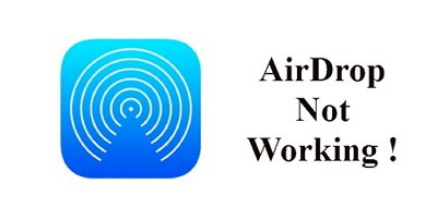airdrop not working