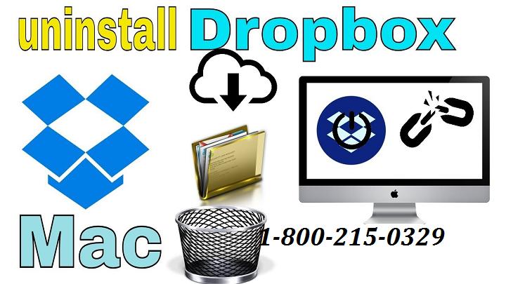 Uninstall Dropbox from Mac