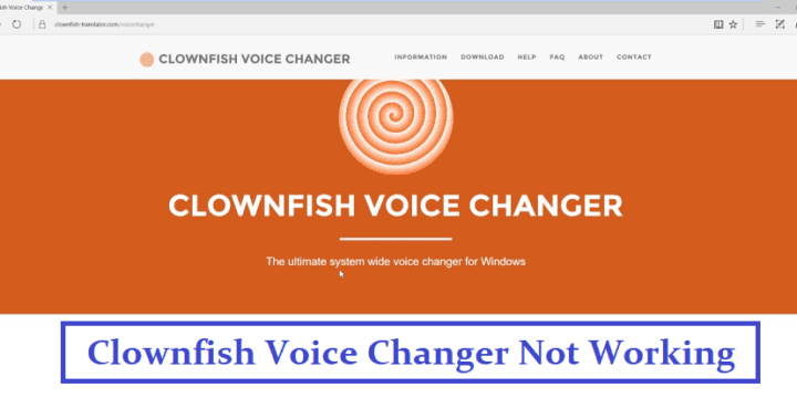 How to Fix Clownfish Voice Changer Not Working?