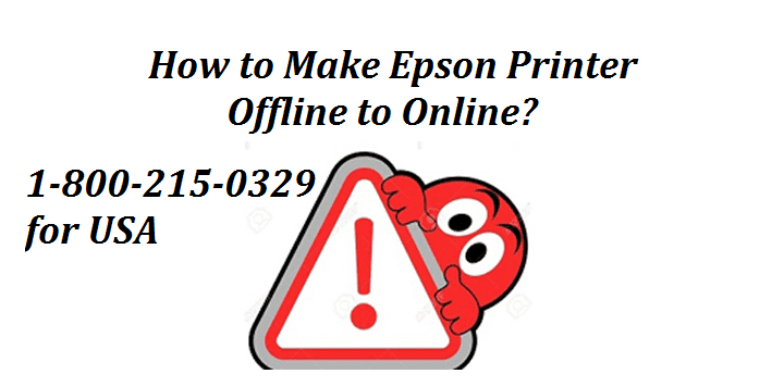 How to make Epson Printer Offline to Online?