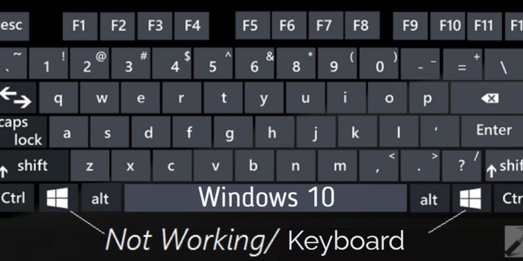 laptop keyboard not working