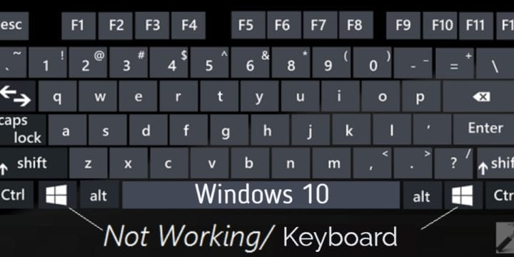 How to Fix Laptop KeyBoard not Working?