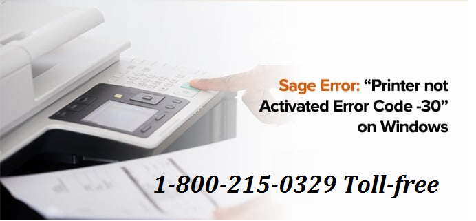 How to Fix Printer Not Activated Error Codes 30, 41, 20?