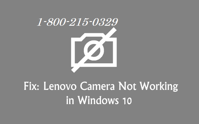 Lenovo Webcam Not Working