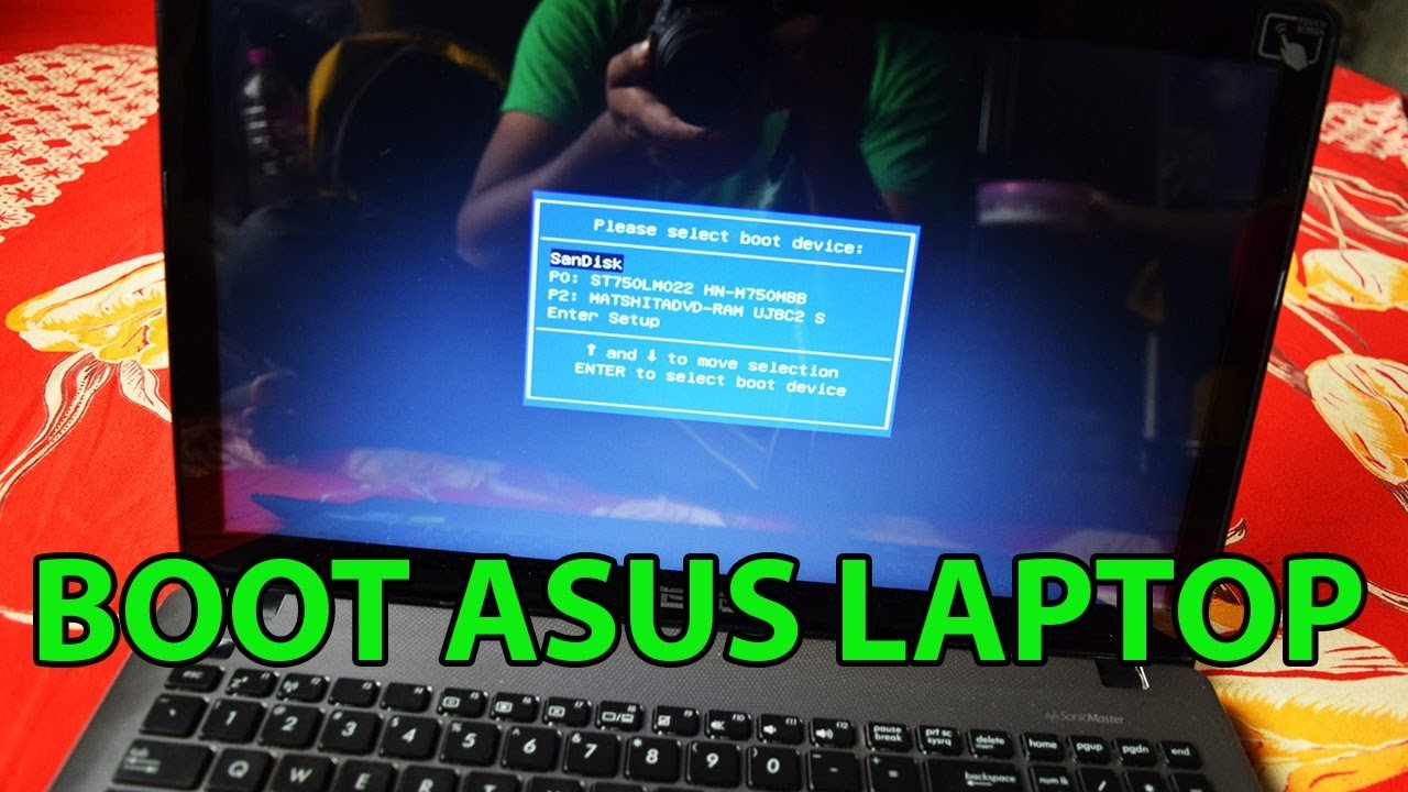 How to Access the Asus Laptop Boot Menu? (1-888-272-9758) Fix it