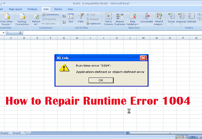 How to Fix Run Time Error 1004 in Excel?