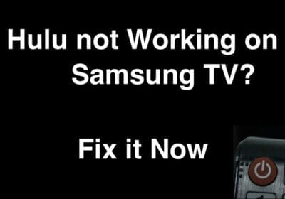 How to Fix HULU not Working on Smart TV?
