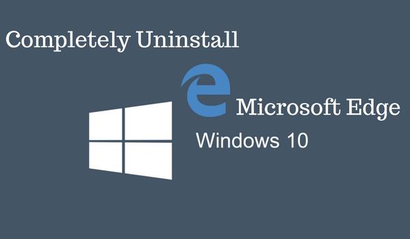 How to Uninstall Microsoft edge?
